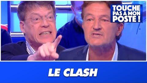Le Face A Face Tendu Entre Laurent Alexandre Et Le Journaliste Richard Boutry Sur Jean Marie Bigard 2Zptm1Cag78 Image