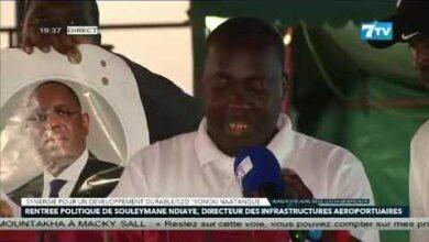 Le Message De Souleymane Ndiaye Directeur Des Infrastructures Aeroportuaires Qfyrvxjubiy Image