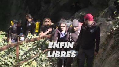 Les 15 Confines Volontaires De La Grotte De Lariege Sont Sortis Apres 40 Jours Hors Du Temps P5Jo1Vehrk0 Image