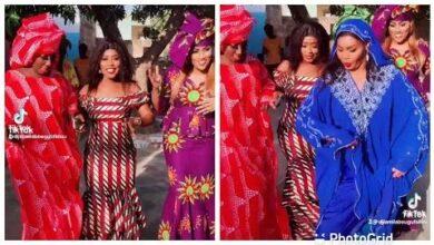 Les Actrices De Mbetel Ndeye Ndiaye Fat Dame Et Fatou Thierno Se Defoule Sur Le Plateau Rtuuj2E0Kcs Image