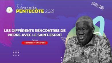 Les Differentes Rencontres De Pierre Avec Le Saint Esprit Part2I Pasteur Mamadou P Karambiri 7Ixyoasmjc0 Image