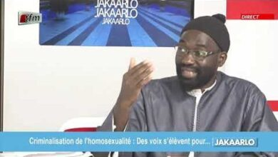 Lgbt Au Senegal Comment Veulent Ils Nous Imposer Lhomosexualite Yb4Nuexyavg Image
