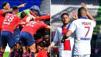 Ligue 1 Lille Ou Psg Petit Et Bouhafsi Ne Sont Pas Daccord Sur Le Favori Pour Le Titre L7Z Lqga6Bg Image