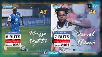 Ligue 2 France Le Top 10 Des Meilleurs Buteurs Senegalais Hpwzpurafo Image
