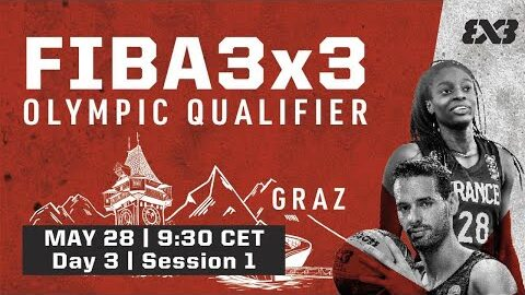 Live Fiba 3X3 Olympic Qualifying Tournament 2021 Day 3 Session 1 D2Zys5Cpvrq Image