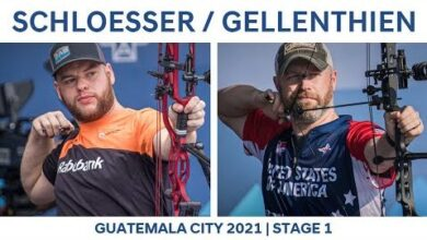 Mike Schloesser V Braden Gellenthien Compound Men Gold Guatemala City 2021 Hyundai World Cup Vepne9Gqz K Image