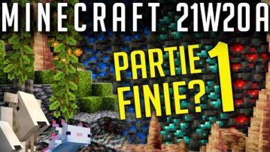 Minecraft Snapshot 21W20A Partie 1 Finie 8Imecckvjou Image