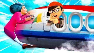 Miss T Frappe Par Un Avion Scary Teacher 3D Happy Easter 5Xhf61Yydl8 Image