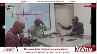 Mouhamadou Fall Sg Charge Des Revendications Invite Rfm Matin Infos Du Matin Du 30 Avril 2021 A8Nqr Jfpx0 Image