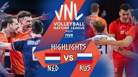 Ned Vs Rus Highlights Week 1 Mens Vnl 2021 1Sff7Jhdnpm Image