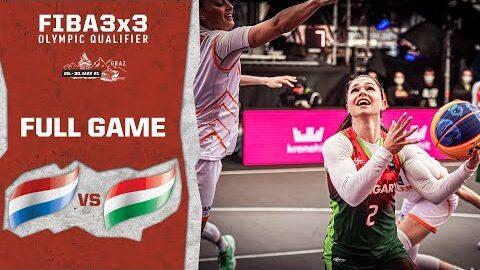 Netherlands V Hungary Womens Full Game Fiba 3X3 Olympic Qualifier Hfzht7Yezay Image