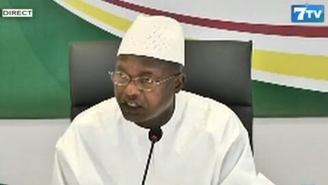 Oumar Gueye Ces Decoupages Cest Pour Organiser Davantage Le Senegal 0Tbxh Q7Pbq Image