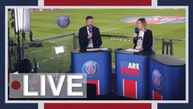 Paris Saint Germain Angers Sco Lavant Match Au Parc Des Princes Ofwrxmadms8 Image