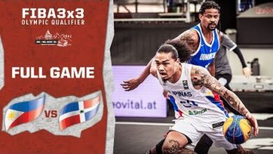 Philippines V Dominican Republic Mens Full Game Fiba 3X3 Olympic Qualifier 5I9Cpkc4Fpw Image