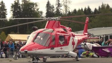 Rc Rescue Mission Giant Turbine Helicopter Agusta Aw139 High Detailed Scale Model Ettuaphmsee Image