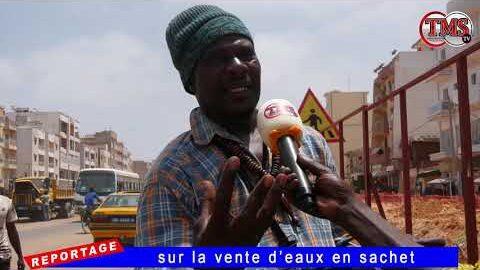 Reportage Sur La Vente Deaux En Sachet