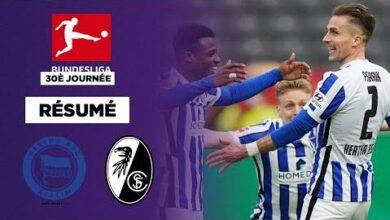 Resume Grace A Radonjic Le Hertha Berlin Soffre Fribourg Et Se Donne De Lair Au Classement 8Gwtzoub0Fm Image