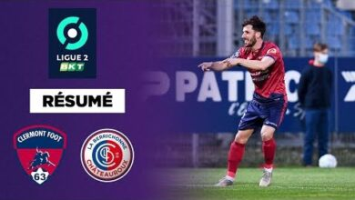 Resume Ligue 2 Bkt Clermont Consolide Sa Place De Dauphin Jpxnp8O0Zuo Image