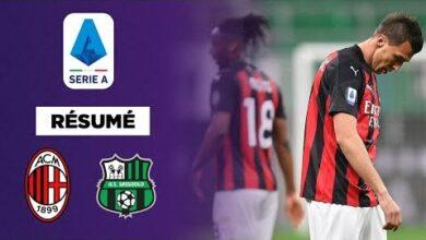 Resume Serie A Milan Secroule A La Maison Contre Sassuolo T2Y61N45Nxk Image
