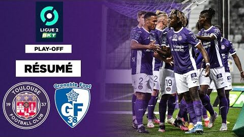 Resume Toulouse Ecrase Grenoble Et Reve De La Ligue 1
