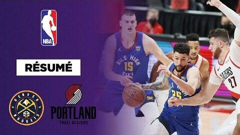 Resume Vf Nba Playoffs Jokic Et Rivers Font Plier Portland L3Efp7Uhlzk Image