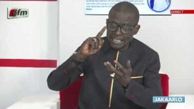 Retour De Lamine Diack Au Senegal Jakaarlo Bi Du 14 Mai 2021 Yofcyl3Mefm Image