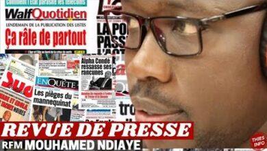 Revue De Presse Rfm Match Jaraf De Dakar 21 04 2021 O50Fwxftobq Image