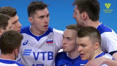 Russia Vs Japan Fivb Volleyball Nations League Men Match Highlights 30 05 2021 Fzvzspewusu Image
