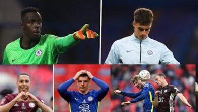 Sans Edouard Mendy Chelsea Perd La Fa Cup Devant Leicester De Nampalys Mendy Kokjjlttiq4 Image