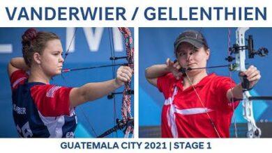 Savannah Vanderwier V Tanja Gellenthien Compound Women Semi Guatemala City 2021 Hyundai World Cup D4Ljcnr2Wtk Image