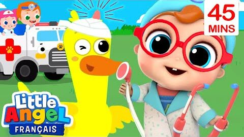 Soignons Les Bobos Des Animaux Comptines Pour Enfants Little Angel Francais Ljb9G3Mzfi8 Image