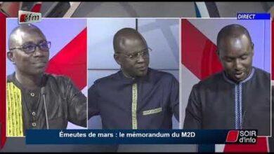 Soir Dinfo Wolof Invite Cheikh Tidiane Dieye Pr Abdoulaye Der 26 Mai 2021 Aowtmk1Ms9A Image