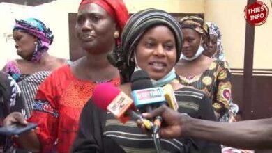 Solidarite Ramadan A Thies Les Femmes Du Bby Distribuent Du Riz Et Du Sucre Llk Zo3Svbs Image