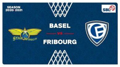 Starwings Basket V Fribourg Olympic Full Game Swiss League Swiss Basketball Tv Jugokus9Zha Image