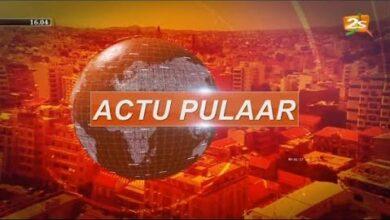 Suivez Actu Pulaar Avec Fatima Diallo Lundi 29 Mars 4Ogjq0Gpigk Image