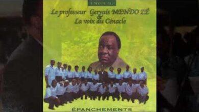Tate Bernard Kele Mvoe La Voix Du Cenacle Du Pr Gervais Mendo Ze Ddqe3L Re9C Image