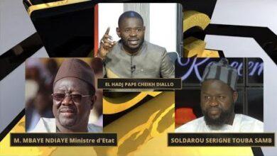 Tfm Live Qg Ak El Hadji Pape Cheikh Diallo Soldarou Serigne Touba Samb Mbaye Ndiaye Ministre Rg79J5Cebyo Image