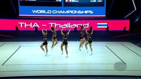 Thailand Tha 2021 Aerobic Worlds Baku Aze Qualifications Group Ip9T8S Szoa Image
