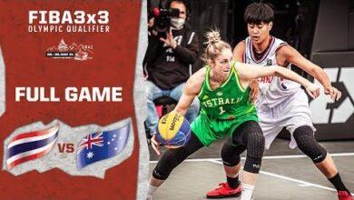 Thailand V Australia Womens Full Game Fiba 3X3 Olympic Qualifier Itj Cyocjag Image
