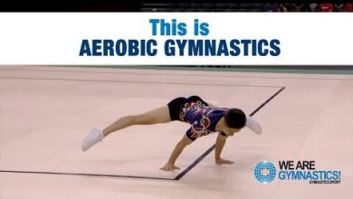 This Is Aerobic Gymnastics O9Fsqjml8Tc Image