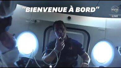 Thomas Pesquet Fait Visiter La Capsule Crew Dragon 2Yfswcd3I U Image