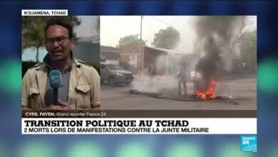 Transition Politique Au Tchad Plusieurs Morts Et Des Dizaines De Blesses Dans Les Manifestations 2Twt9G9Ejqm Image