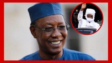 Urgent Le President Tchadien Idriss Deby Reelu Hier Deurcede M9Crzvmay5K Image