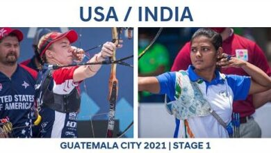 Usa V India Recurve Mixed Team Bronze Guatemala City 2021 Hyundai Archery World Cup S1 3Zdi Uohowy Image