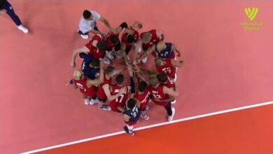 Usa Vs Canada Fivb Volleyball Nations League Men Match Highlights 28 05 2021 Bplealxfjum Image