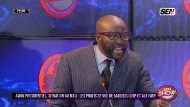 Ville De Dakar La Replique Salee De Cheikh Sadibou Diop A Barthelemy Ldmxhljd Hy Image
