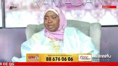 Wareefu Ramadan Du 23 Avril 2021 Presente Par Seyda Fatou Bintou Diop Oustaz Assane Seck Mor Thiam Hb3Yollkicg Image