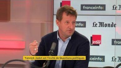 Yannick Jadot Il Y A Un Espace Politique Entre Jean Luc Melenchon Et Emmanuel Macron Hxv Idfjvdg Image
