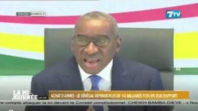 Achat Darmes Le Senegal Depense Plus De 142 Milliards Fcfa En 2020 Rapport 8Cjdvlsuy68 Image
