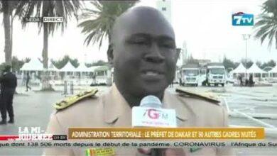 Administration Territoriale Le Prefet De Dakar Et 50 Autres Cadres Mutes Opxcvcruh0K Image